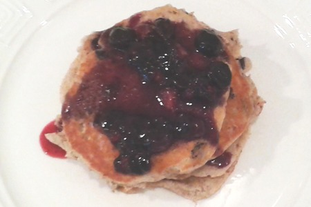 CardioMender MD Weight Loss Diet recipe for blueberry pancakes