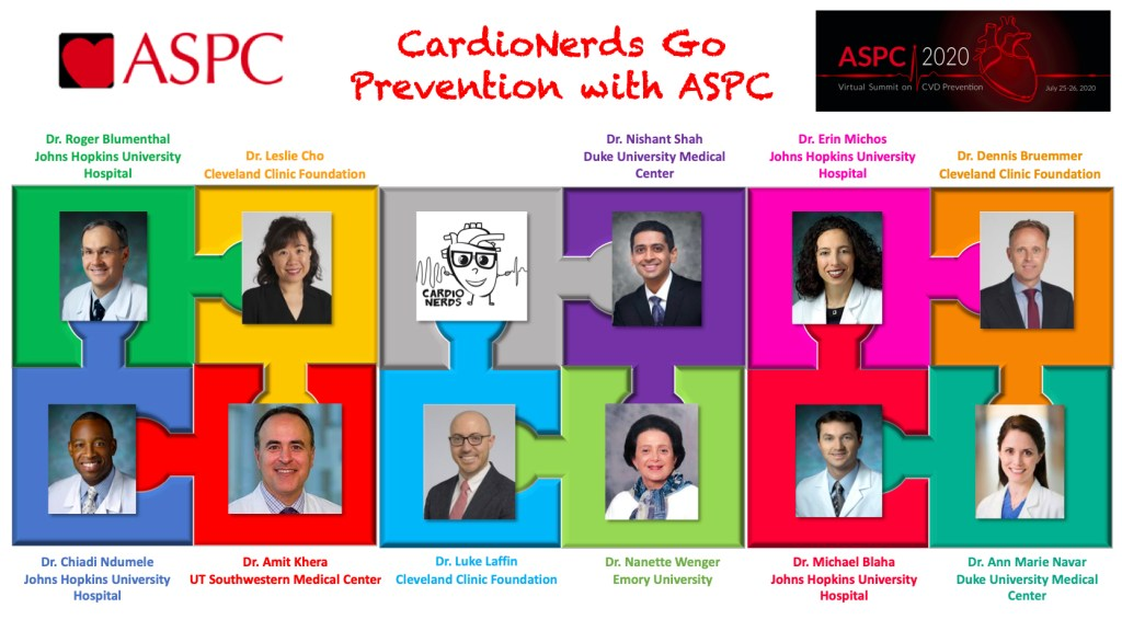 Cardionerds Cardiovascular Prevention Series: by the Cardionerds Cardiology Podcast in Collaborate with the The American Society For Preventive Cardiology ASPC