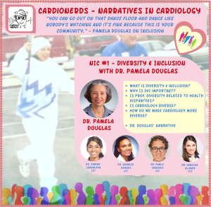 95. Introducing Narratives in Cardiology Series: Dr. Pamela Douglas on Diversity & Inclusion