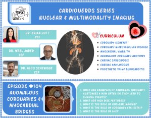 104. Nuclear and Multimodality Imaging: Anomalous Coronary Arteries & Myocardial Bridges