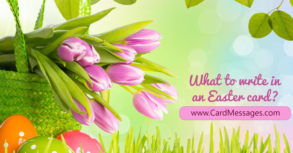 Easter Greetings Amp Easter Sayings For Anyone Card Messages