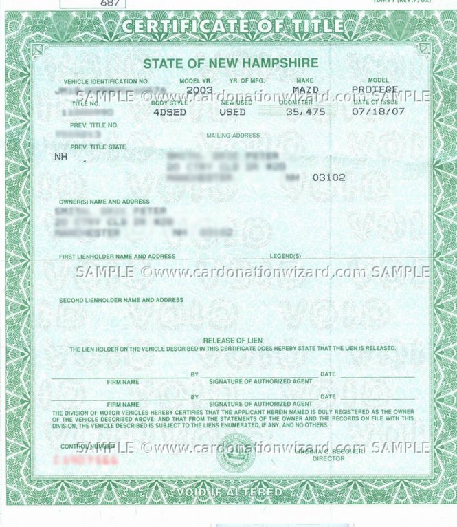 Buying New Car Tax Title Registration Fees
