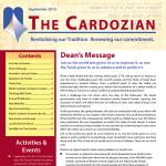 Cardozian Newsletter Rosh HaShana 5776