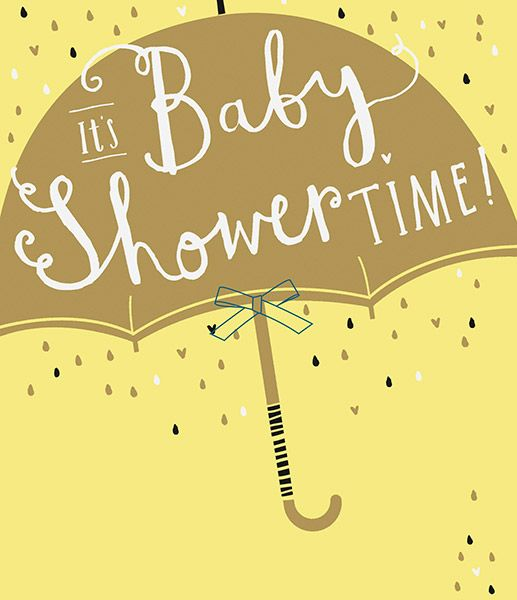 It S Baby Shower Time Card