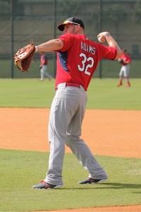 Adams throwing