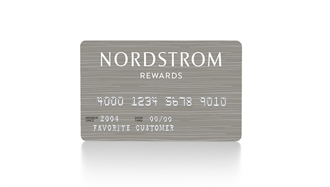 Nordstrom Retail Credit Card
