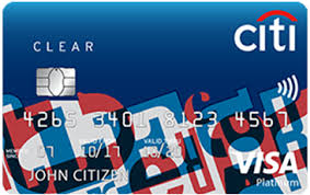 Citi Clear Platinum Credit Card | Great Shopping Deals