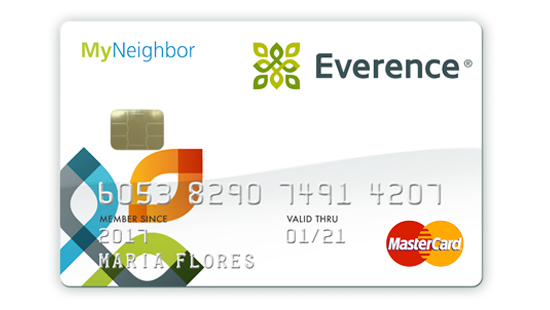 Everence MyNeighbor MasterCard|My Card, My Cause