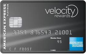 Velocity Escape Credit Card