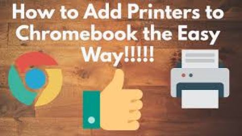 Add printer to your Chromebook