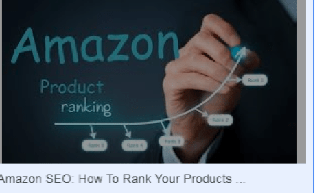 get your product to the top of amazon