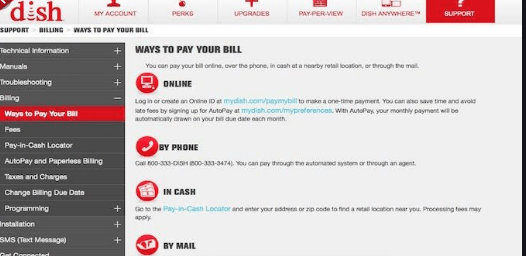 dish network bill pay