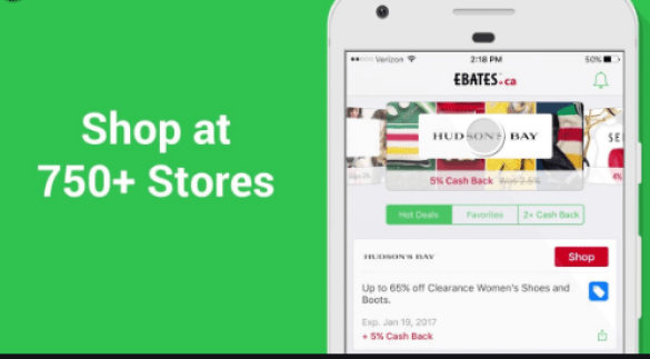 ebates app for android