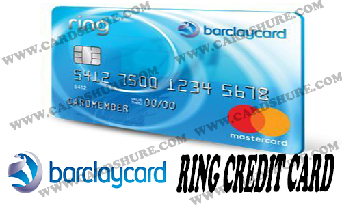Barclaycard Ring Credit Card - How to Apply