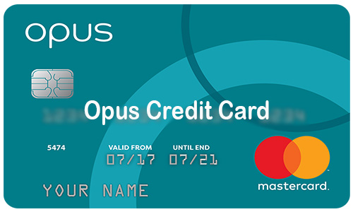 Opus Credit Card - How to Apply