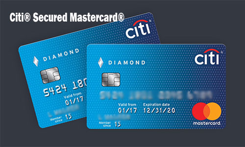 Citi® Secured Mastercard® - Online Application for Citi® Secured Mastercard