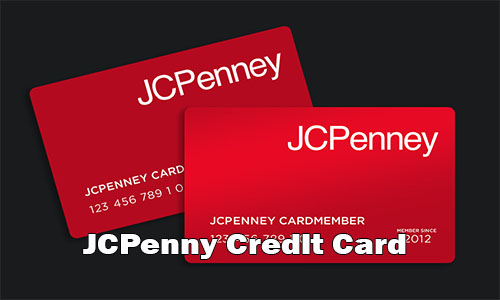 JCPenny Credit Card - JCPenny Credit Card Application