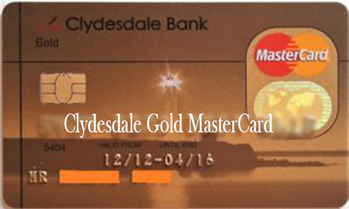 Clydesdale Gold MasterCard - How to Apply