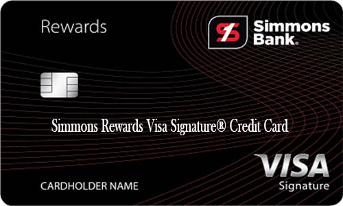 Simmons Rewards Visa Signature® Credit Card - How to Apply