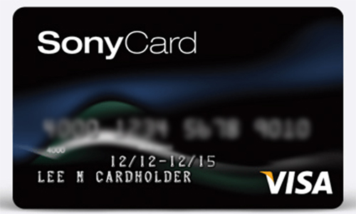 Sony® Card - How to Apply for Sony® Card