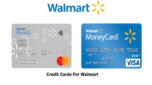 Credit Cards For Walmart