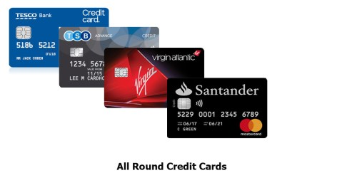 All Round Credit Cards