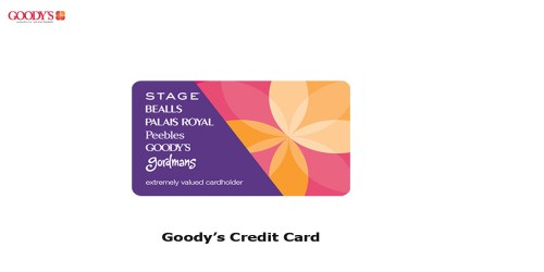 Goody's Credit Card