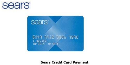 Sears Credit Card Payment