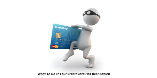 What To Do If Your Credit Card Has Been Stolen