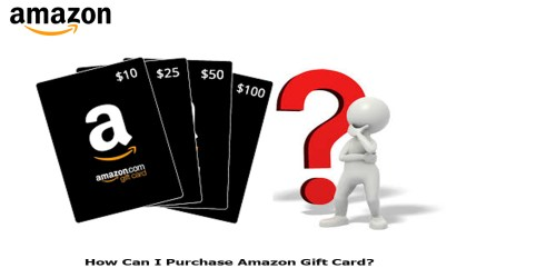 How Can I Purchase Amazon Gift Card?