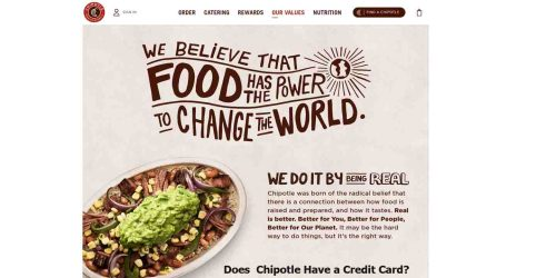 Does  Chipotle Have a Credit Card?