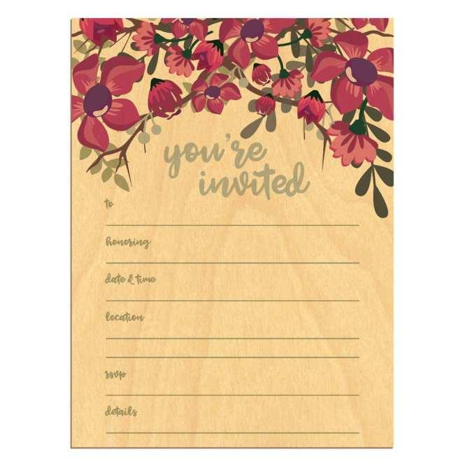 Blank Invitation Card Cobypic Com
