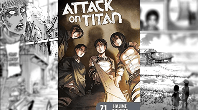 [Review] Attack on Titan Vol. 21