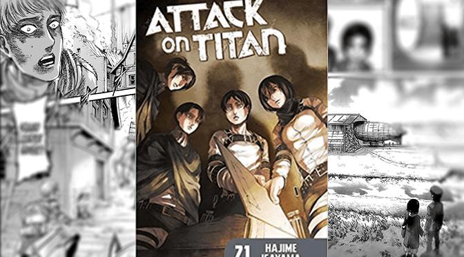 [Review] Attack on Titan Vol. 21