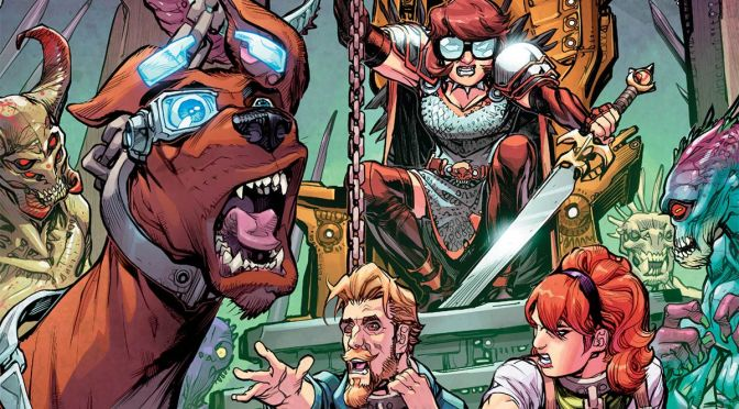 [Review] Scooby Apocalypse #10