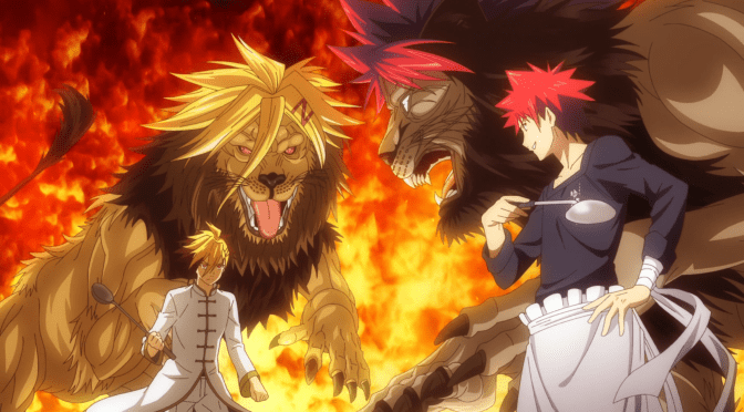 [Review] Food Wars! The Third Plate – Episode 4