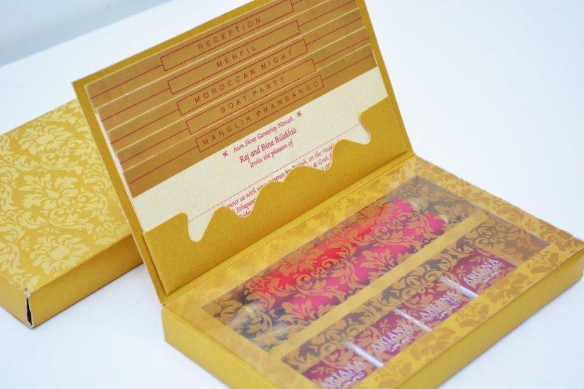 Muslimpea Theme Wedding Cards 123weddingcards