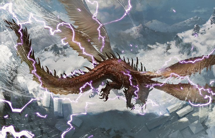 Stormwing Dragon | Art by Svetlin Velinov