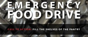 Emergency Food Drive