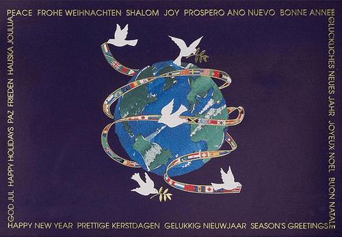 peace new year greetings