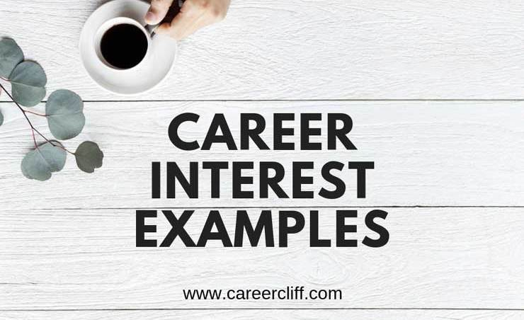 career-interest-examples