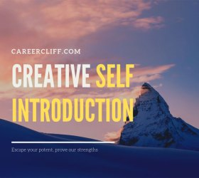 Creative Self Introduction Examples