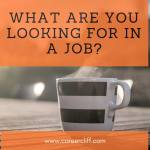 what are you looking for in a job best answer