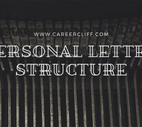 Personal Letter Structure