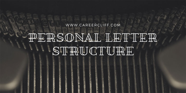 Personal Letter Structure – A Complete Guide with Example