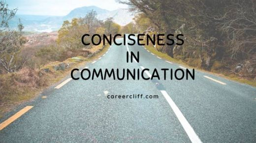 conciseness in communication