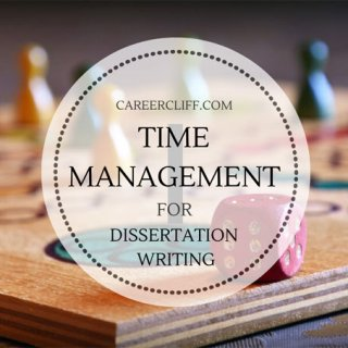 time management tips for dissertation writing
