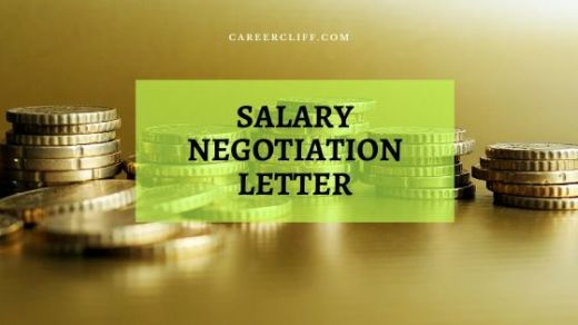 how to write a salary negotiation letter