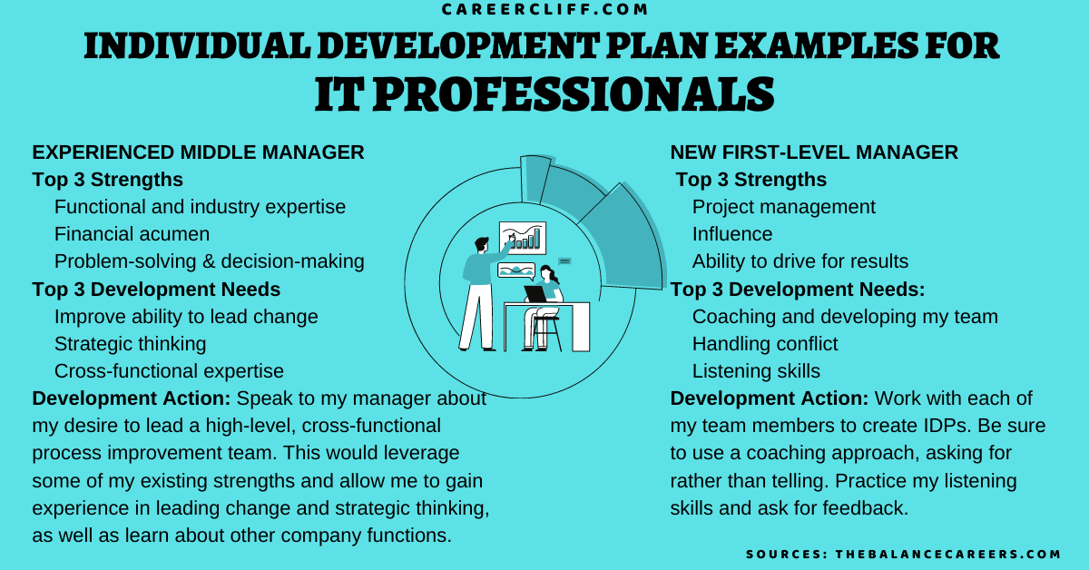 20 Individual Development Plan Examples For It Professionals Career Cliff