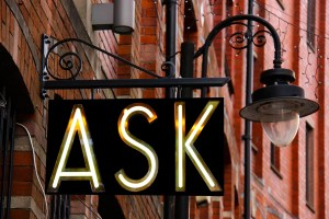 ASK Street Sign